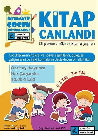 kitap canlandi ve can atolyesi